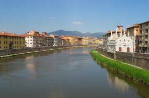 Pisa by the Arno