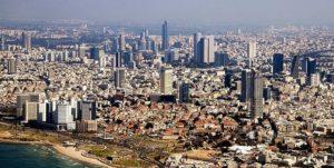 Tel Aviv from the sky